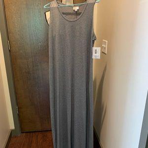 Lularoe tank maxi dress, Dani